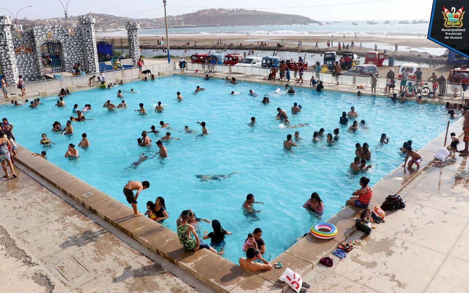 Huacho Portal Diresa Da Visto Bueno A Piscinas De Playa