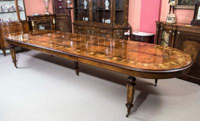desain meja makan inlay kayu jati