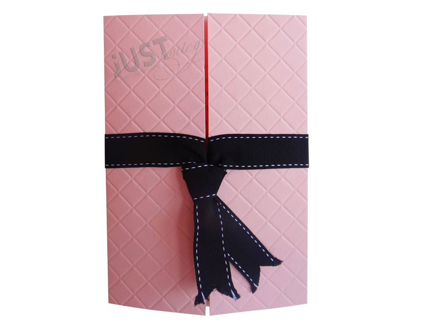 Pink wedding invitations A1211