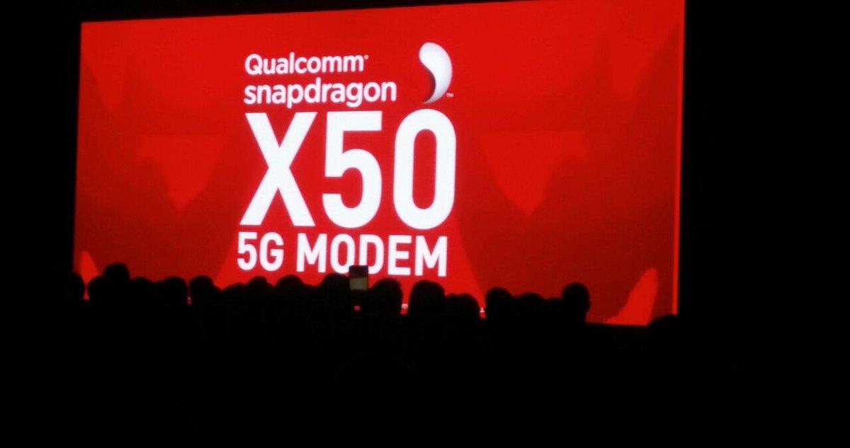 Qualcomm Announces Snapdragon X50 world's first 5G modem