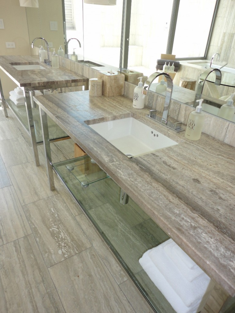 The Granite Gurus: Viceroy Anguilla--A Silver Travertine dream