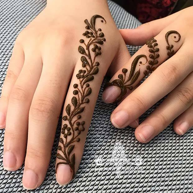 77 Simple Henna Mehndi Tutorials Designs 2019 That Are Easy