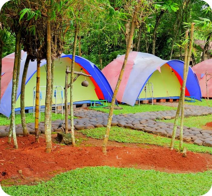 Camping Ground Di Tanjung Lesung