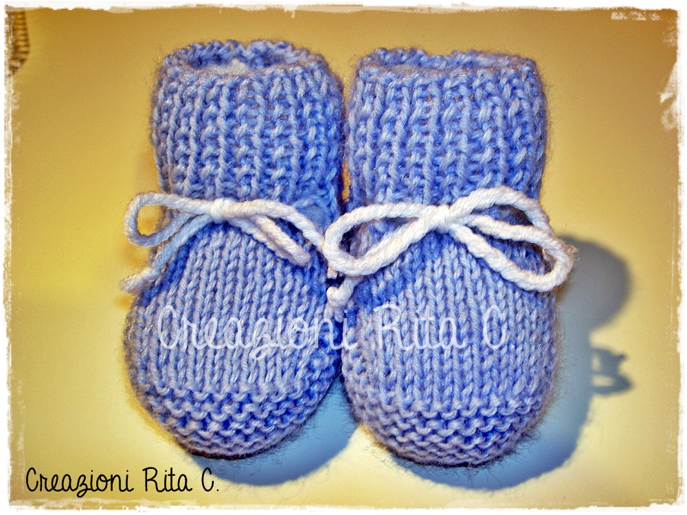 Creazioni Rita C Only Handmade Tutorial In Italiano Scarpine