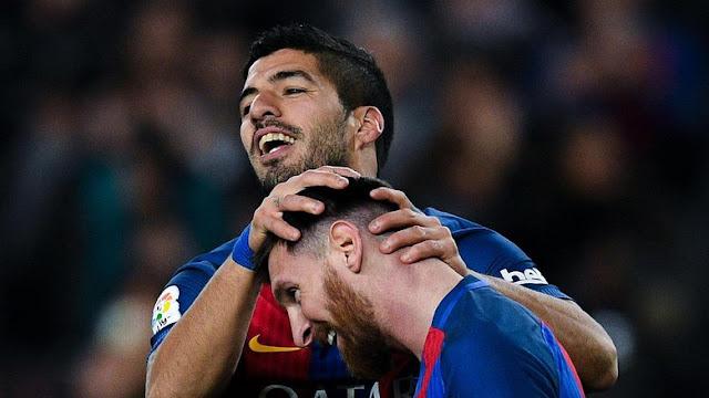 Messi-Suarez Tutup Tahun dengan Predikat El Pichichi
