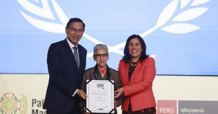 La meta en educación es formar también mejores ciudadanos, sostuvo el Presidente Martín Vizcarra
