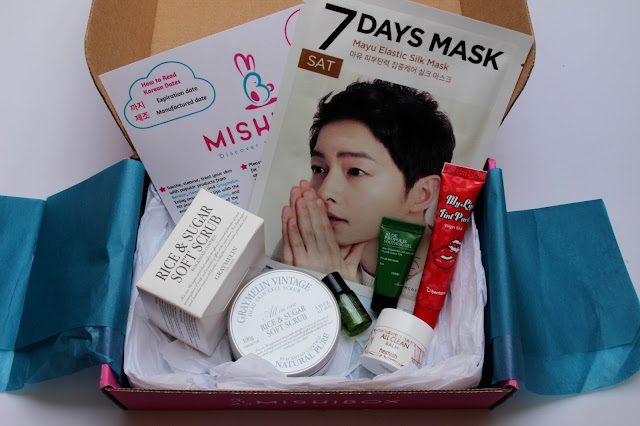 Mishibox August 2016 Review & Unboxing