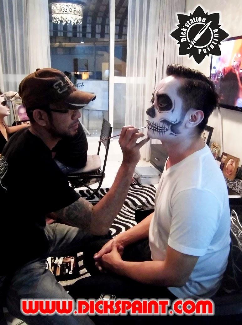 make up horror jakarta zombie