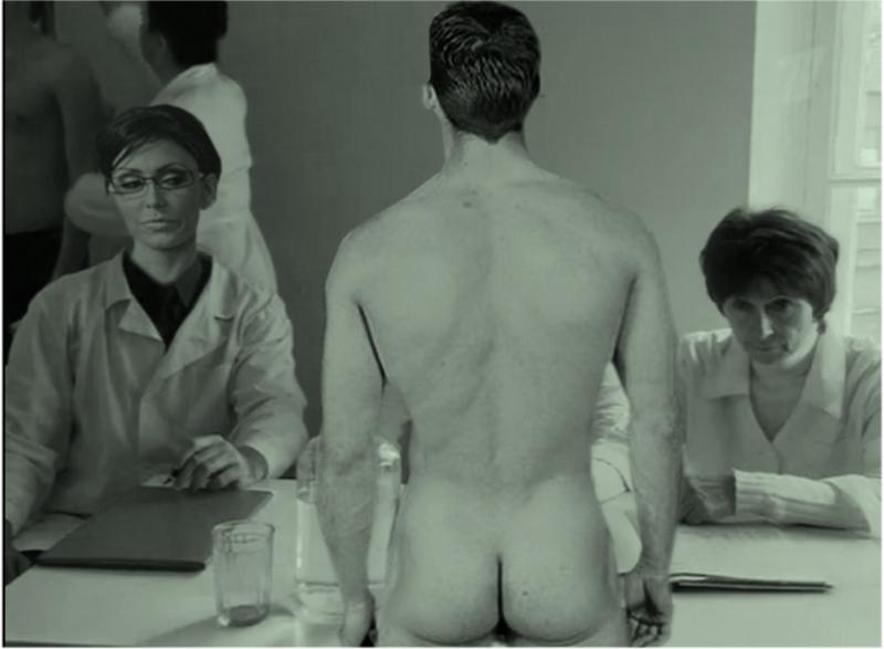 Naked man exam — 4