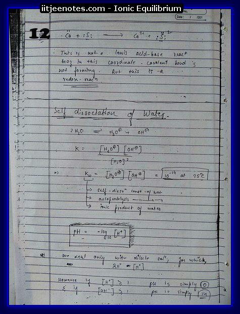 Ionic Equilibrium12