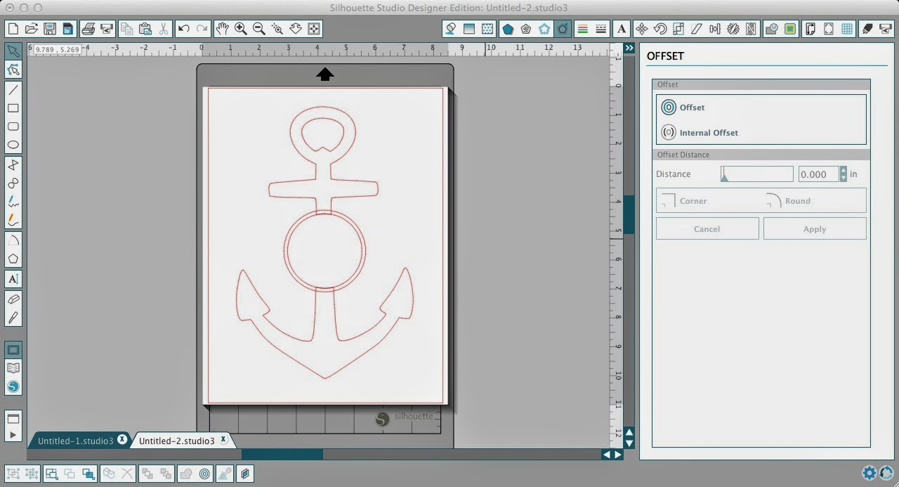Circle, split anchor, Silhouette Studio, Silhouette tutorial, making a compound path