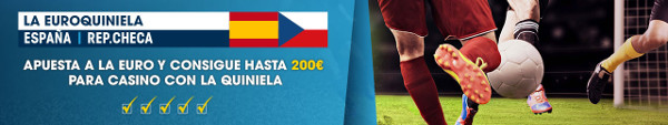 william hill euro quiniela España vs Rep. Checa 200 euros saldo real 10-12 junio