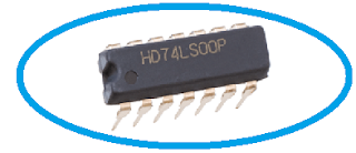IC 7400 Pin Diagram, Circuit design, Datasheet, Application