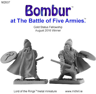 Bombur at The Battle of Five Armies miniature