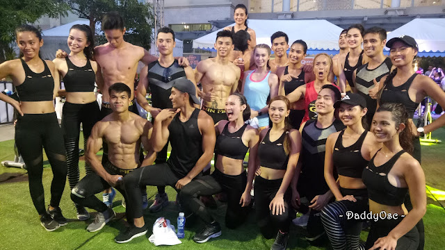 Superbods Ageless Finalists at the Electric Spinning Party