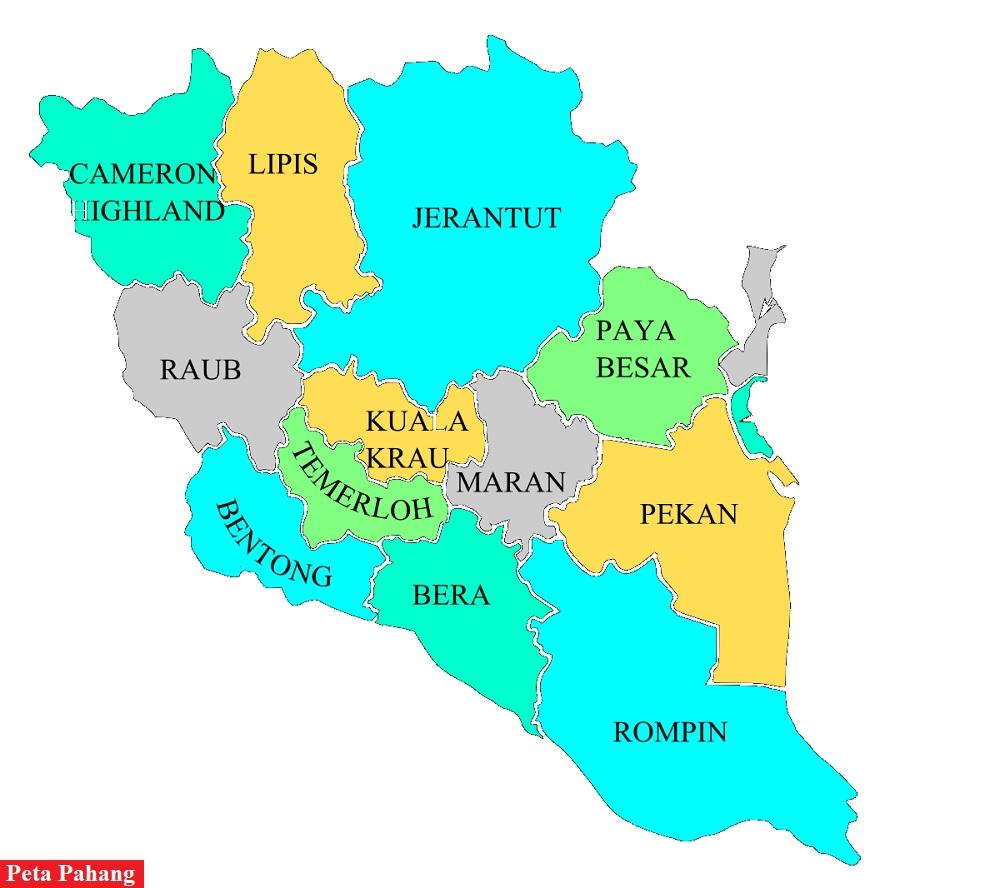 Peta Pahang