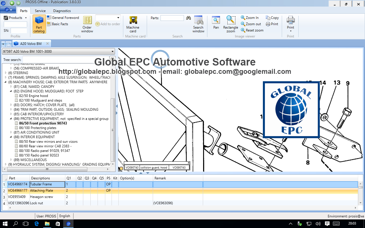 Global Epc Automotive Software Volvo Prosis Offline 2015 Repair L20f Wiring Diagrams 012015 Want To Buy It 50 Email Us Globalepcyandexcom