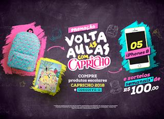 Promoção Volta às Aulas Capricho 2019
