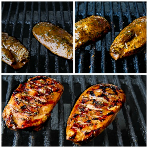 Grilled Chicken with Balsamic Vinegar found on KalynsKitchen.com
