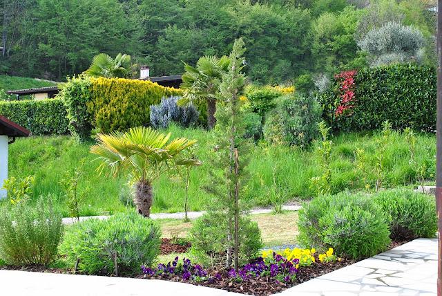 Ferienhaus mit Garten am Gardasee zu vermieten