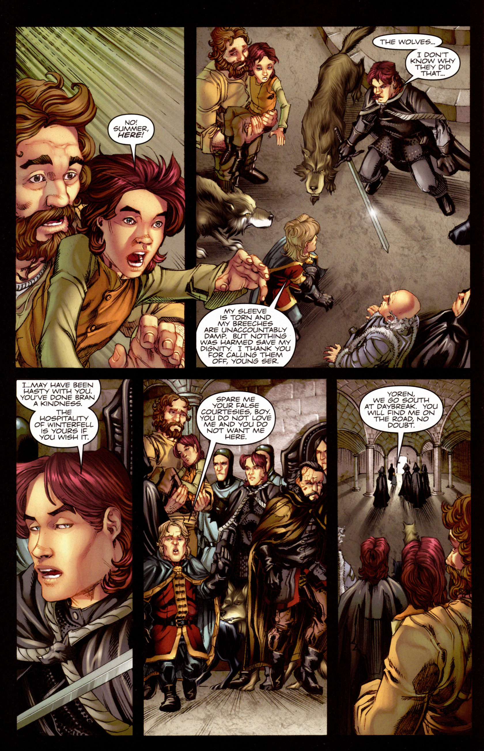Read online A Game Of Thrones comic -  Issue #7 - 29