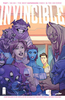 Invincible #127 - Second-Printing
