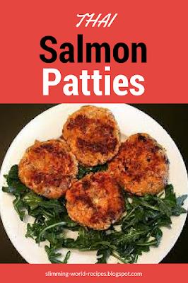 Slimming World Thai Salmon Patties