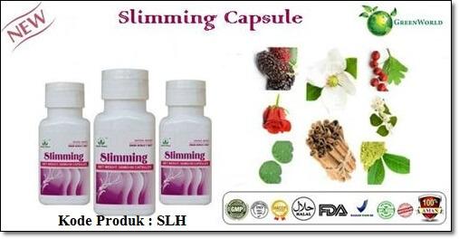 Obat Pelangsing Yang Aman Dan Halal   Slimming Capsule ...
