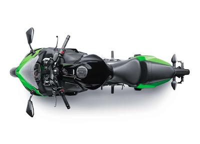 2017 Kawasaki Ninja 650 ABS top view image