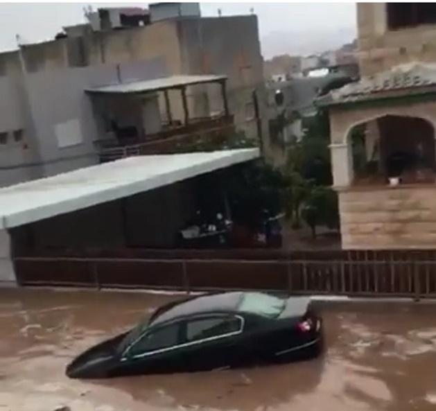 Setelah Di Kepung Api Kini Isreal Terancam Banjir Badang Air Hitam
