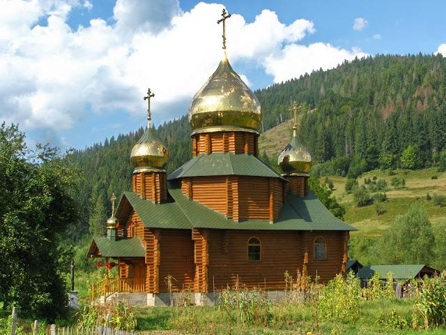 деревянная церковь, закарпатье