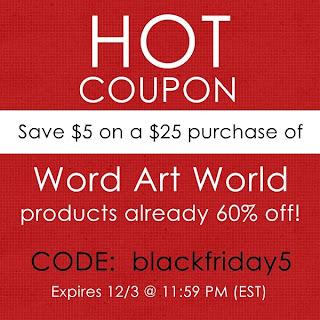 Word Art World Hot Word Art World 60 Off Sale Bonus Coupon