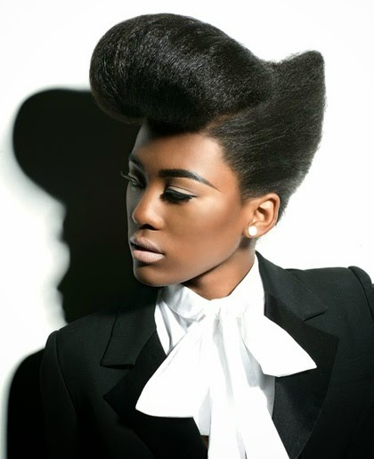 Afro Hairstyles From ghd | Cool Afro Hair Style. Gonna try this!!!!