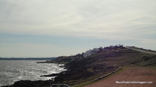 Vista do Mirador de Punta Ballena - Uruguai