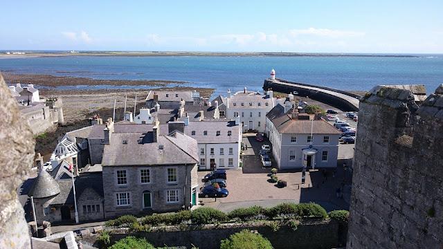 Overhead shot of Isle of Man