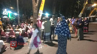 Pemberangkatan Jamaah Haji Bojonegoro, PKL Padati Jalan Mas Tumampel