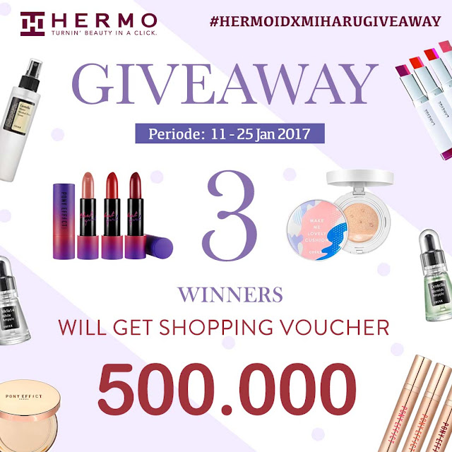 hermo indonesia giveaway