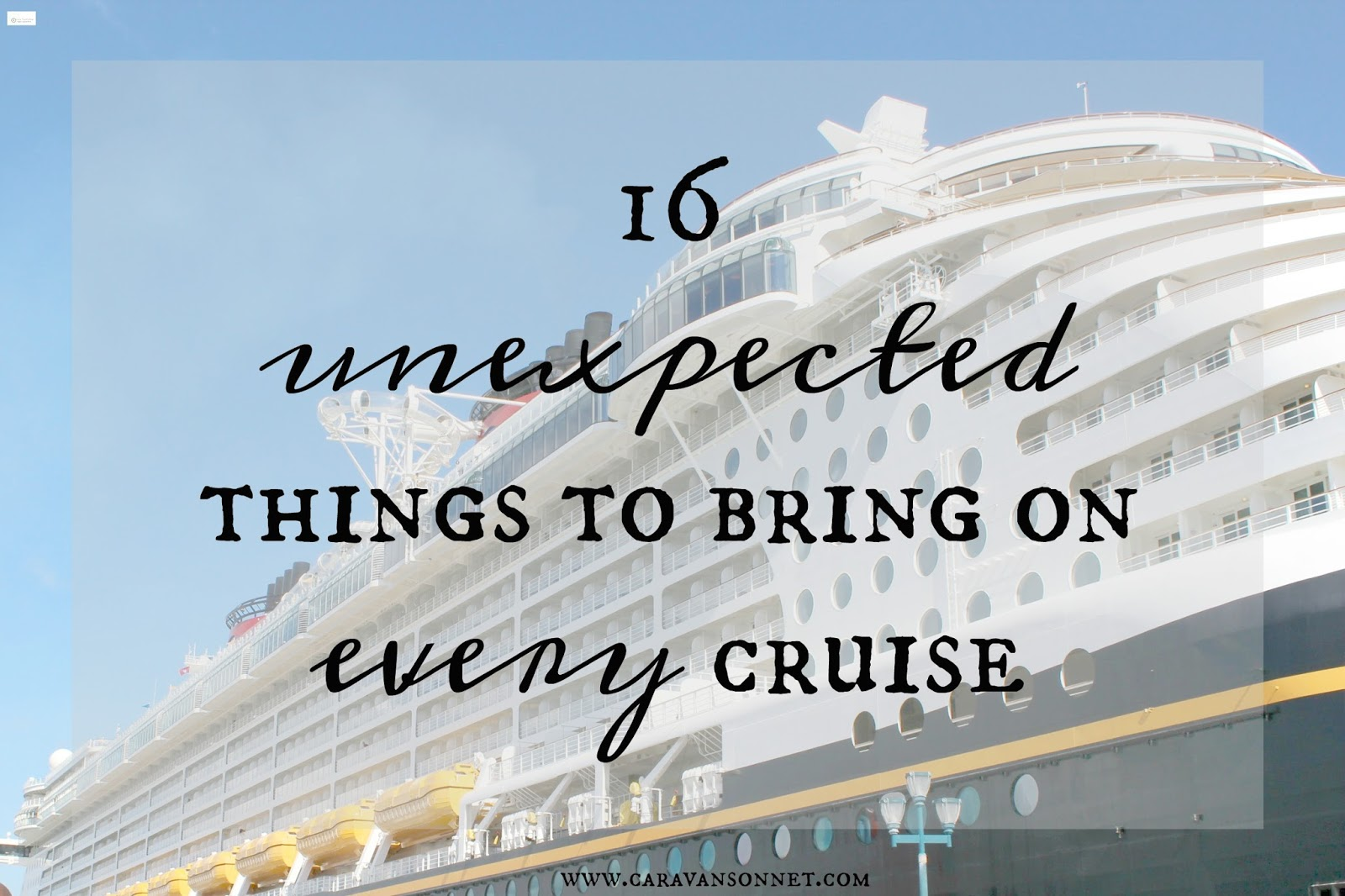 Caravan Sonnet Unexpected Items To Bring On Every Cruise - Can you text from a cruise ship