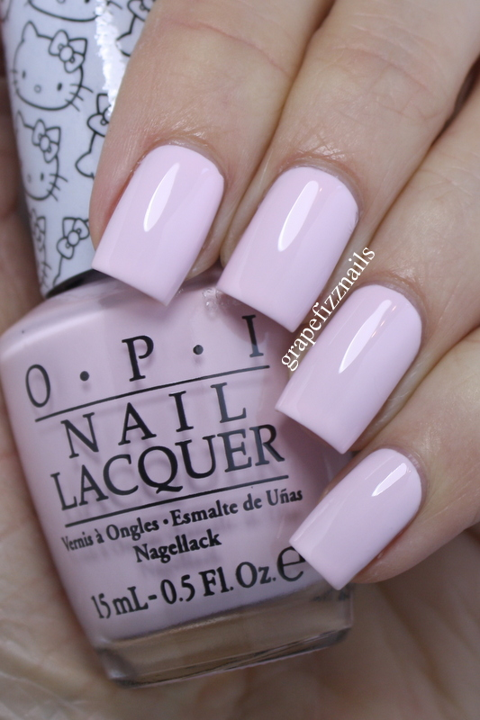 Grape Fizz Nails New Opi Hello Kitty Collection