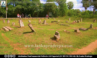Ruins at Vessagiriya, Anuradhapura, Sri Lanka