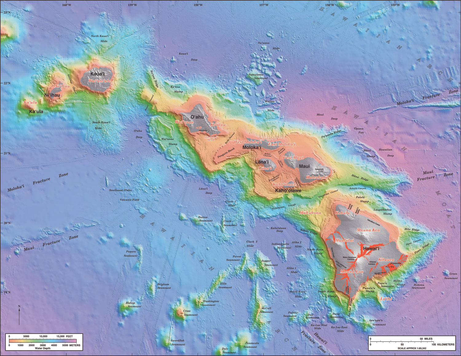Volcanic Activity On The Big Island Of Hawaii Is Primarily