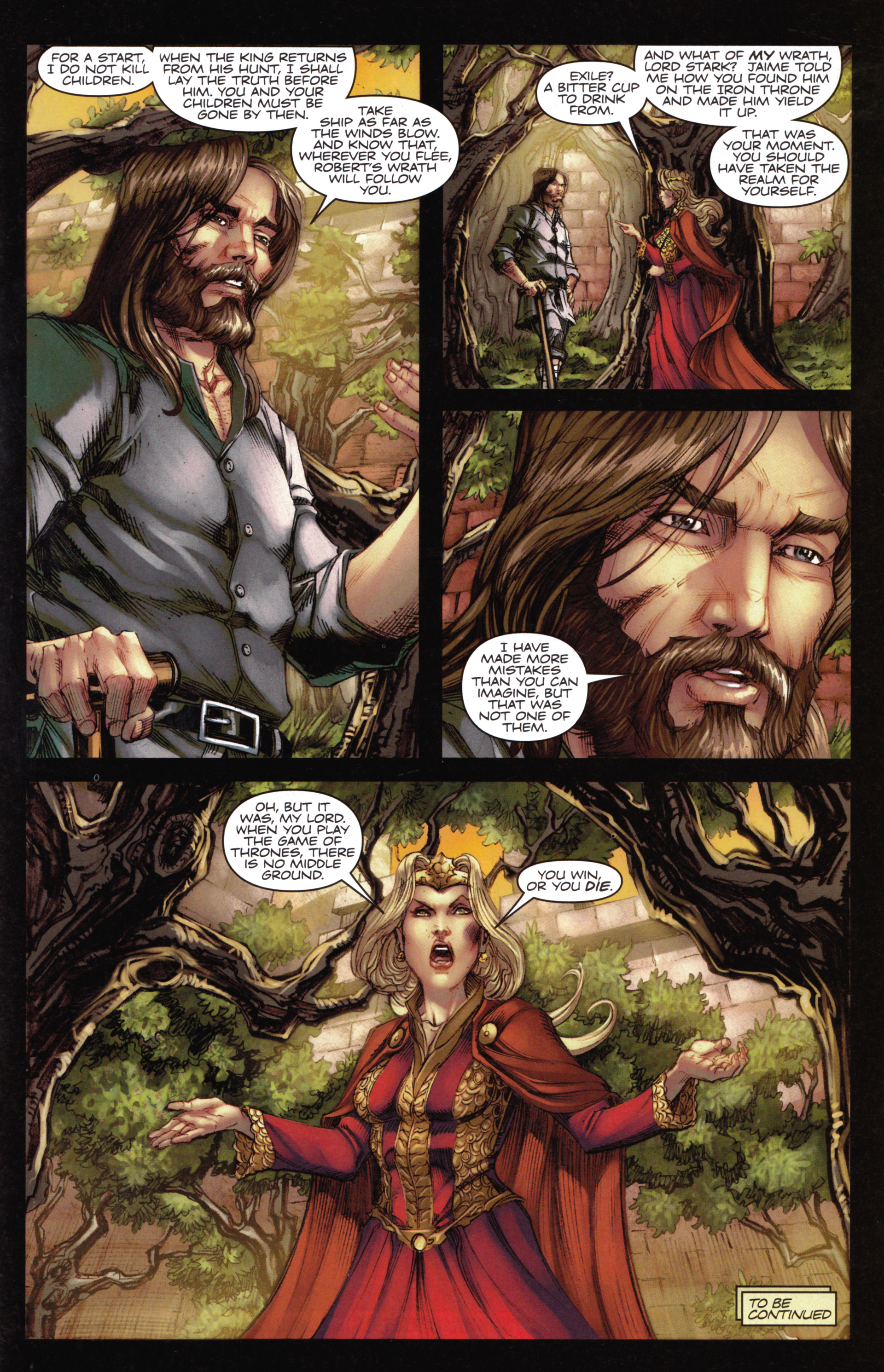 Read online A Game Of Thrones comic -  Issue #14 - 31