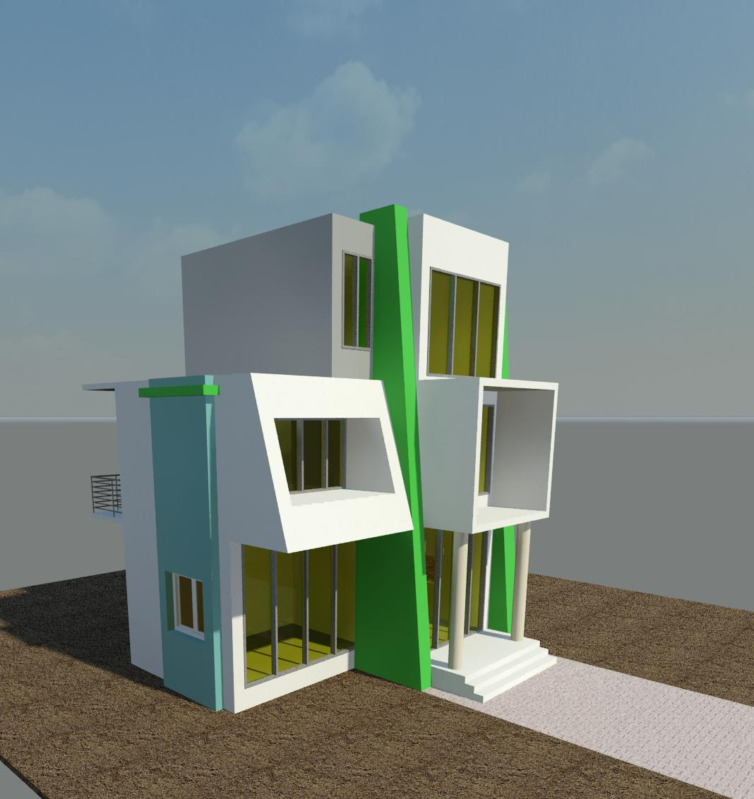 Revit Architecture: Modern House Design #4
