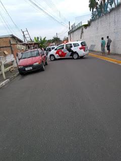 Paciente psiquiátrico tem surto e joga carro do estacionamento do Hospital São João
