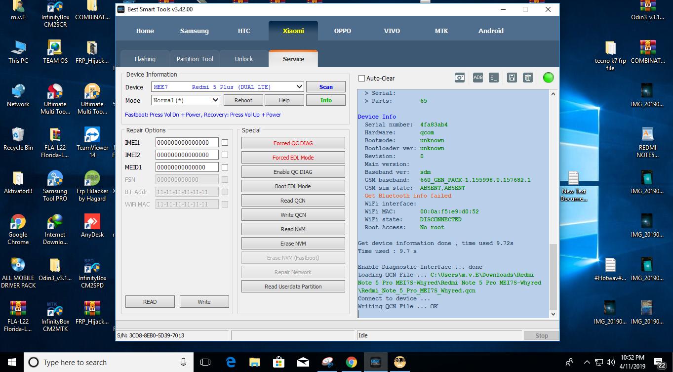 Redmi Note 5 Qcn File