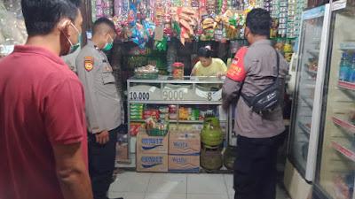 Polsek Mauk Polresta Tangerang Gelar KRYD Kawal PPKM Level 4