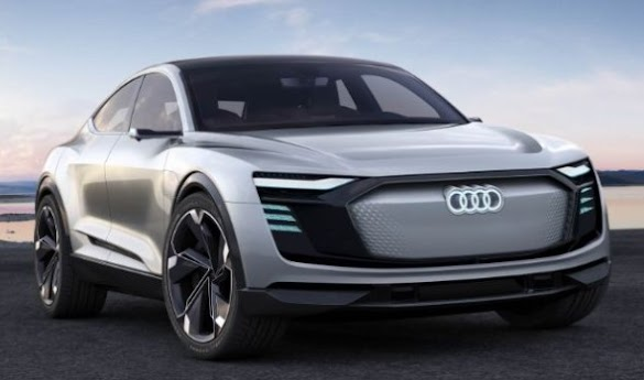 Audi e-tron Sportback Concept : The SUV Coupe Goes Electric : Audi Electric Car