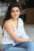Avantika Mishra in One Shoulder Crop Top and Denim Jeggings ~  Exclusive 048.JPG