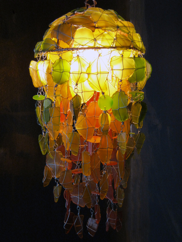 Recycled & Unique Light Fixtures 264