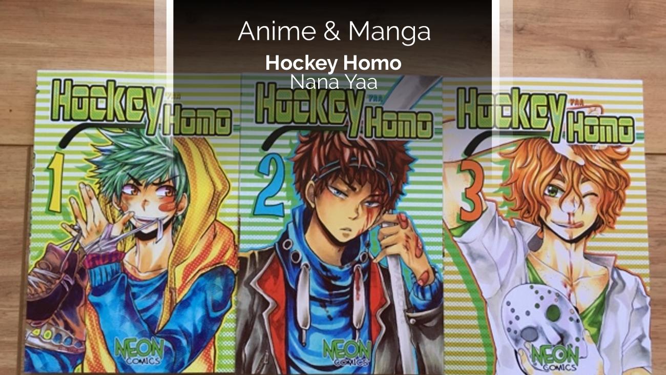 Rezension zum Manga/Doujinshi Hockey Homo (Nana Yaa Kyere)